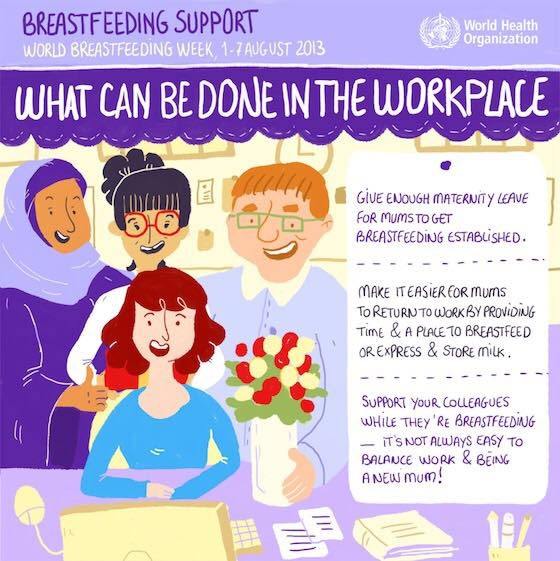 breastfeeding in the workplace tips