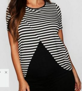 Boohoo Maternity Nursing Shirt