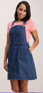 Sainsburys denim pinafore