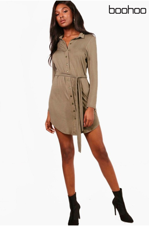 Boohoo shirt dress