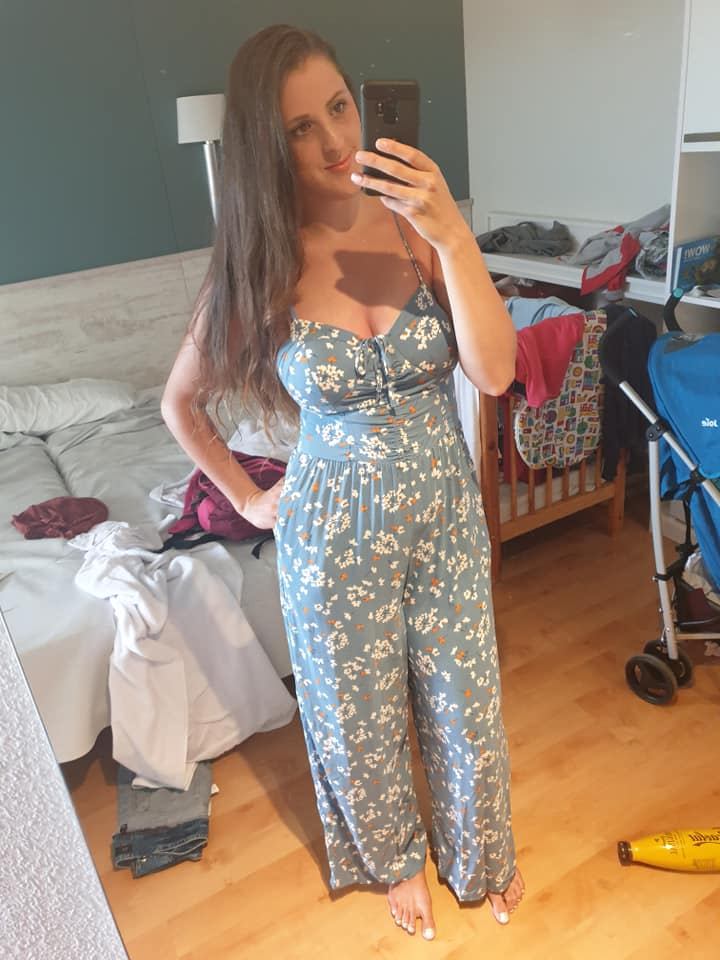Kirsty Ann new look foral bustier Jumpsuit