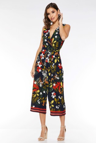 quiz tropical jumpsuit