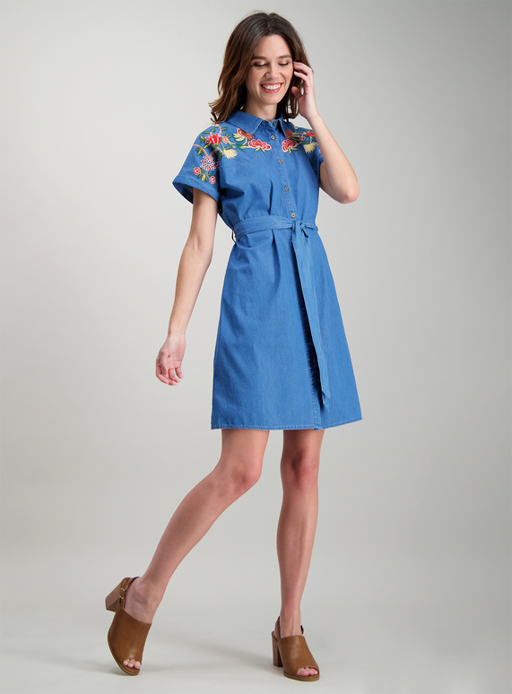 tu denim dress