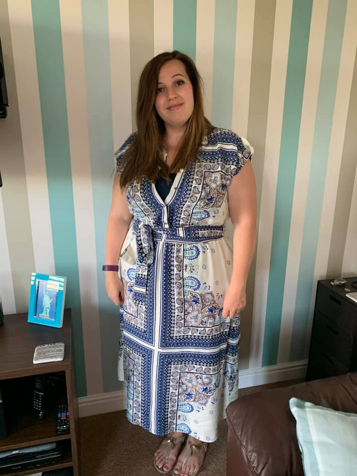 Emma Nash f&f scarf dress