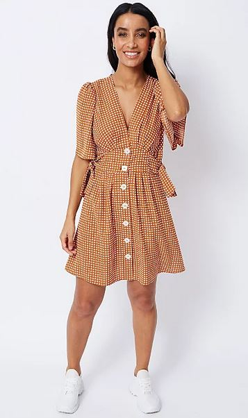 Tu gingham tea dress