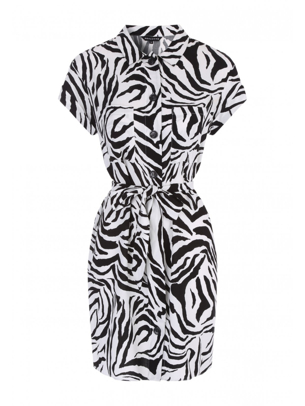 peacocks zebra dress