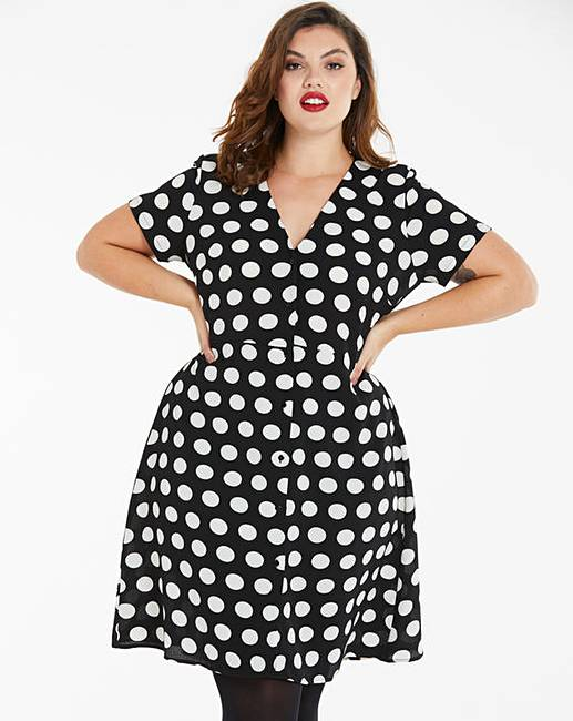 simply be spot tea dress