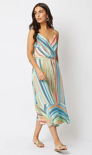 George stripe dress