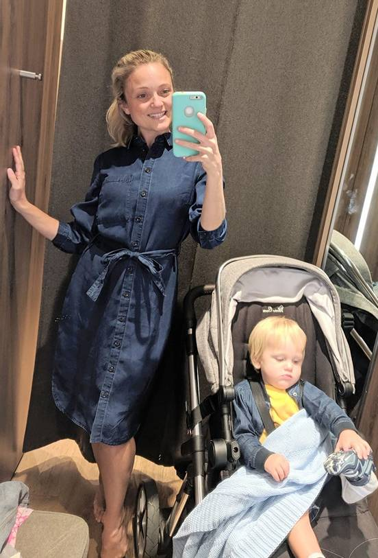 Charlotte Moore Next denim dress