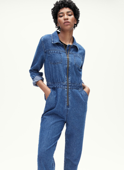 Tu Denim Jumpsuit