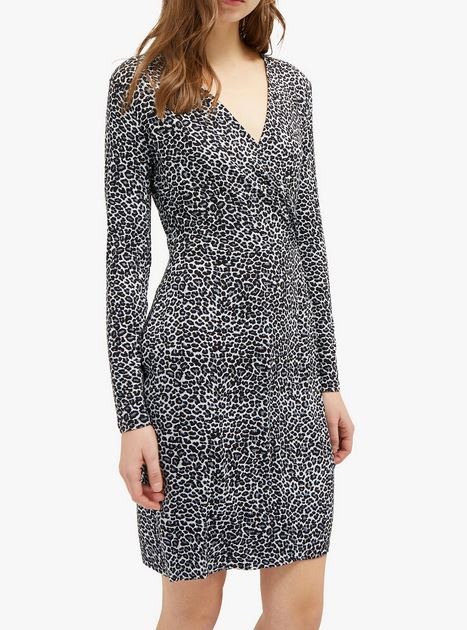 french connection ;eopard dress