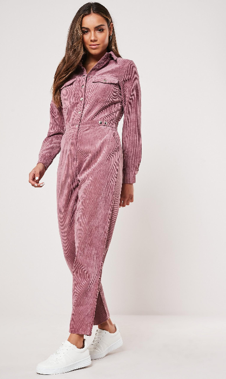 Screenshot_2019-11-14 Missguided – Pink Cord Utility Popper Jumpsuit